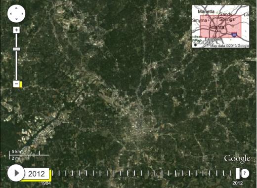 Metro Atlanta Land Coverage