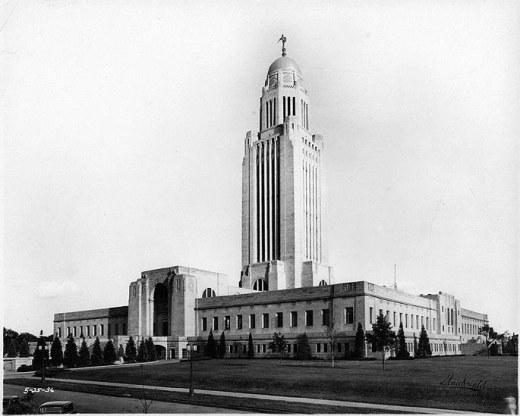 Bertrand Goodhue's State Capitol in Lincoln, Nebraska